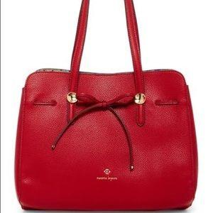 NWT Nanette Lepore Red Arabelle Shoulder Bag